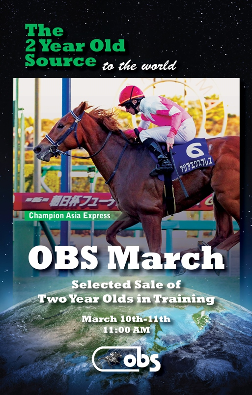 2014 March Sale of Selected Two-Year-Olds in Training