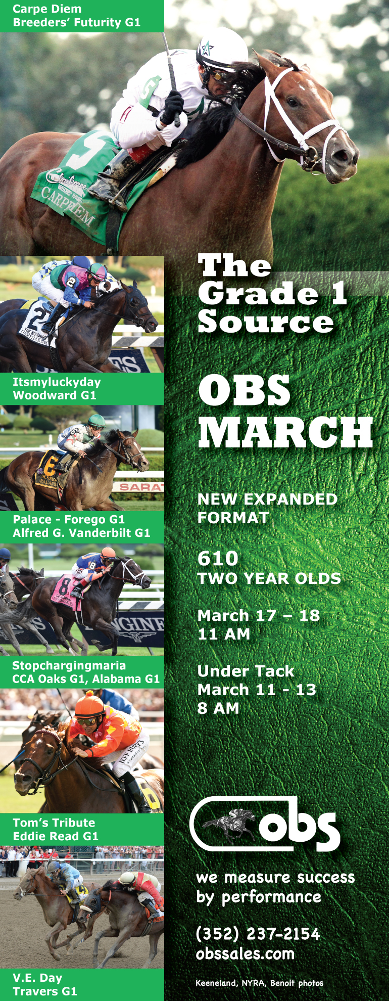 obs march 2015 TDN half photos Six G1 winners