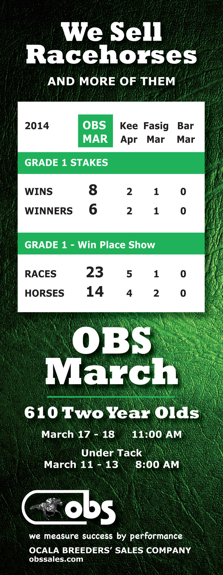 obs march Grade 1 Buyer tab update