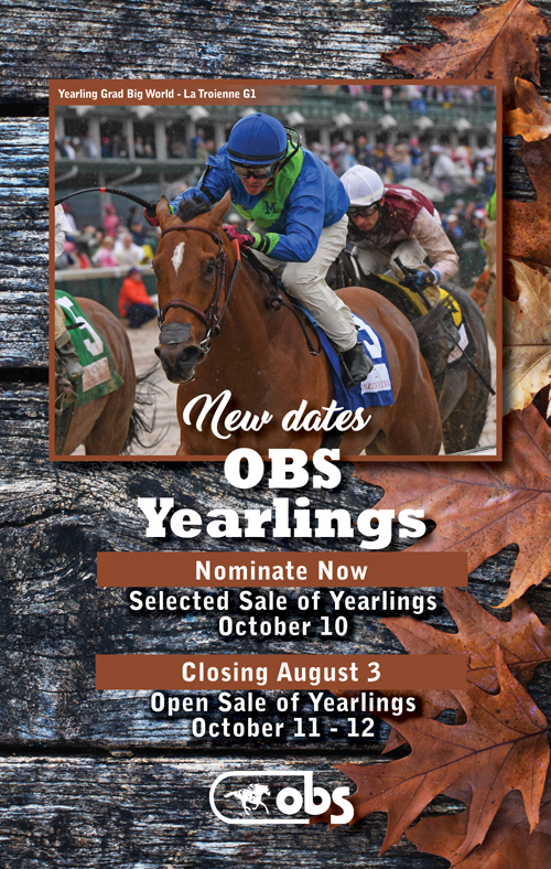 2017 October Yearling Sale Forms