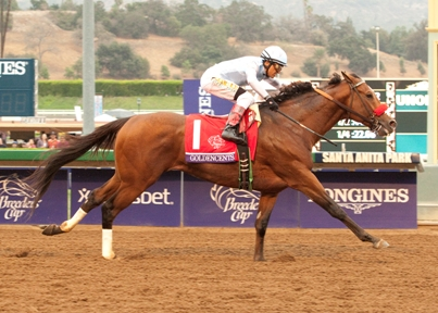 GOLDENCENTS (Rafael Bejarano)BREEDERS' CUP J=DIRT MILE,     GR. 8 $1,  000,000Santa Anita ParkOctober 31, 2014Arcadia, CA©Benoit Photo