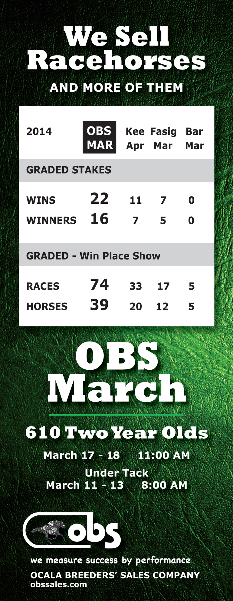obs march Graded Buyer tab update