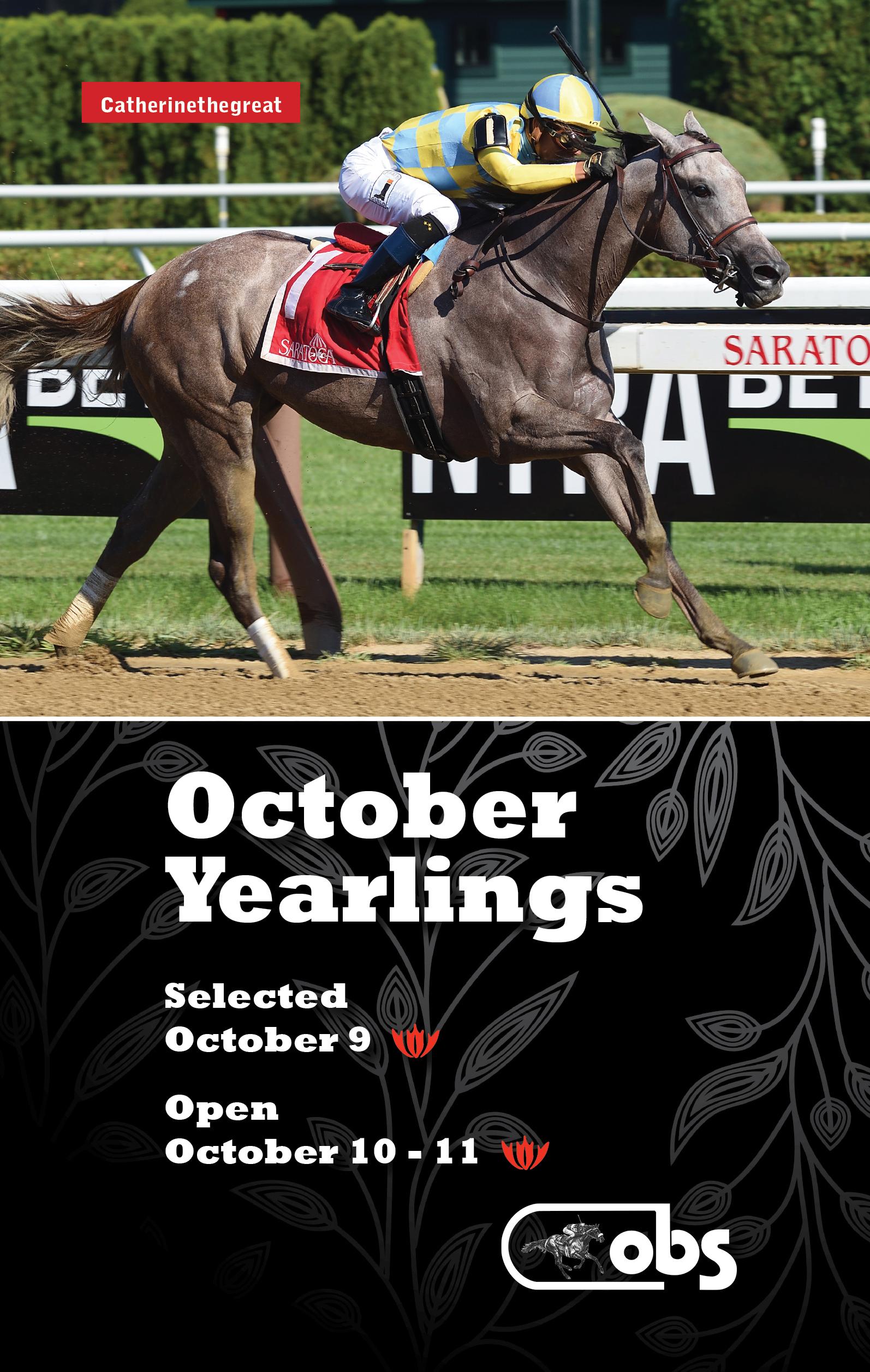 2018 October Sale of Yearlings
