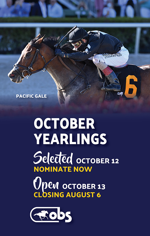 October Yearling Sale Nominations and Contracts